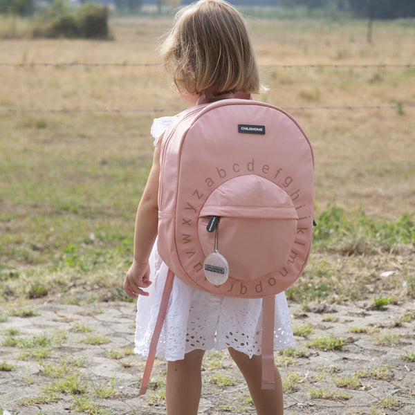 Kids School <br/> Backpack ABC <br/> Pink Copper