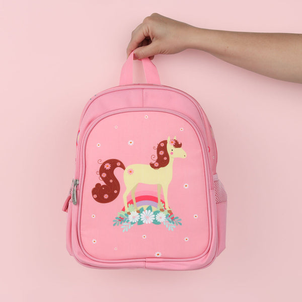 Backpack <br/>Horse <br/> Pink