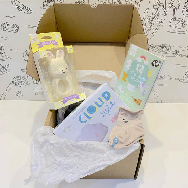 Baby<br/> gift box <br/> Welcome little baby