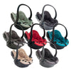 besafe baby car seats in different hues