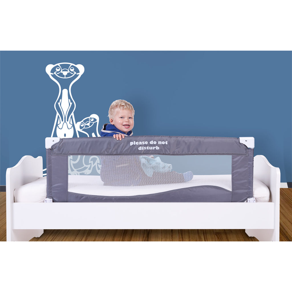 Bed Rail <br/> 120cm <br/> Do Not Disturb Grey
