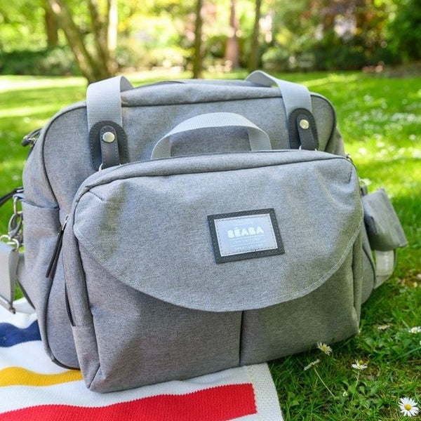Geneva II <br/> Changing Bag <br/> Heather Grey