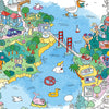 San Francisco Large Coloring Poster from OMY