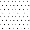 Black Hearts Pattern on Wallpaper from Lilipinso