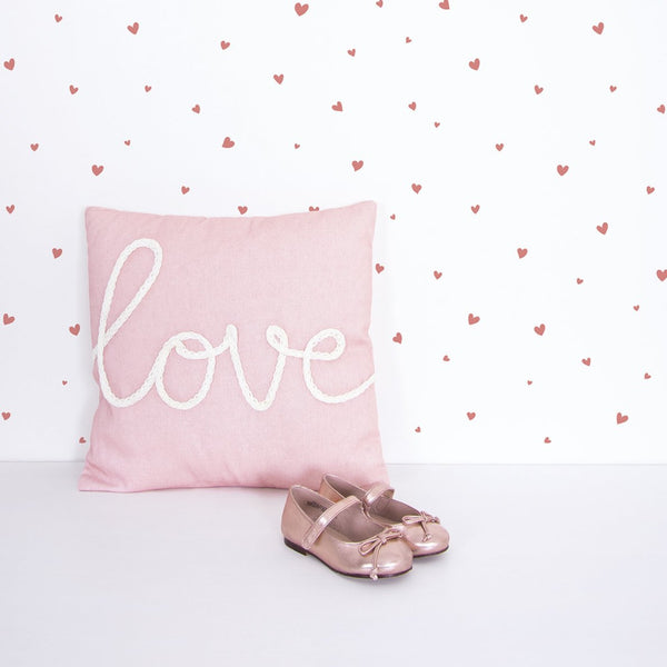 Wallpaper <br/> Lovely Hearts <br/> Pink