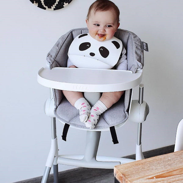 Highchair <br/> Up and Down <br/> Textile Seat Grey