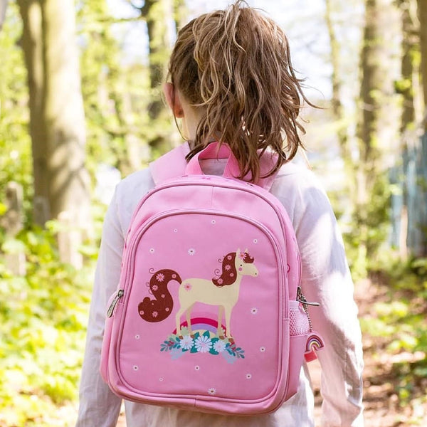 Backpack <br/> Horse <br/> Pink