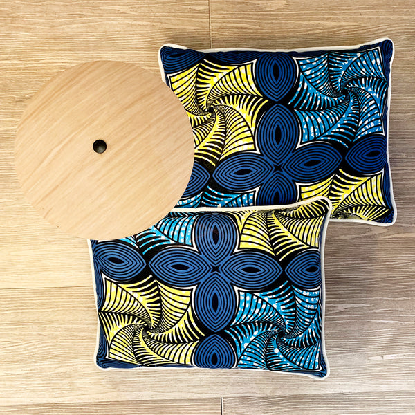 Cushion <br/> Wax Printed <br/> Rectangle