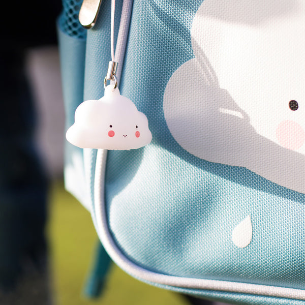 Cloud charm for your bags.