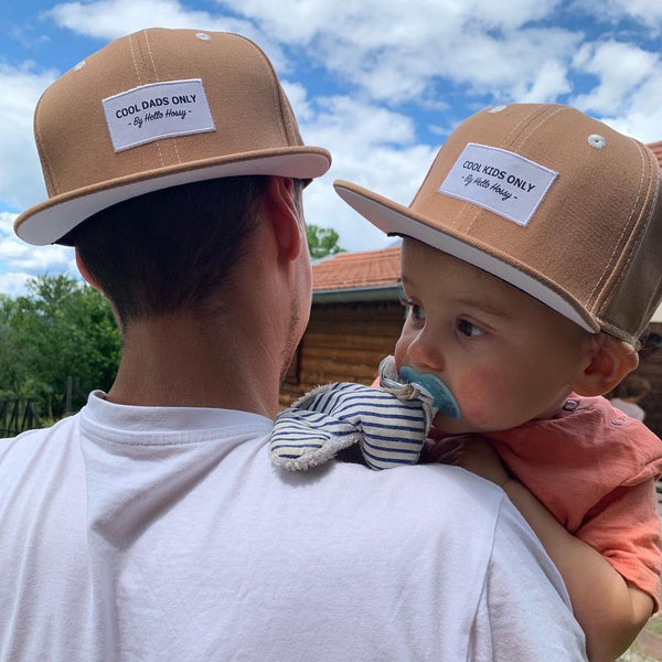 Mini Brown <br/> Cap <br/> KIDS and DAD