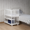 co sleeping bed with several heights, which adapts to any bed