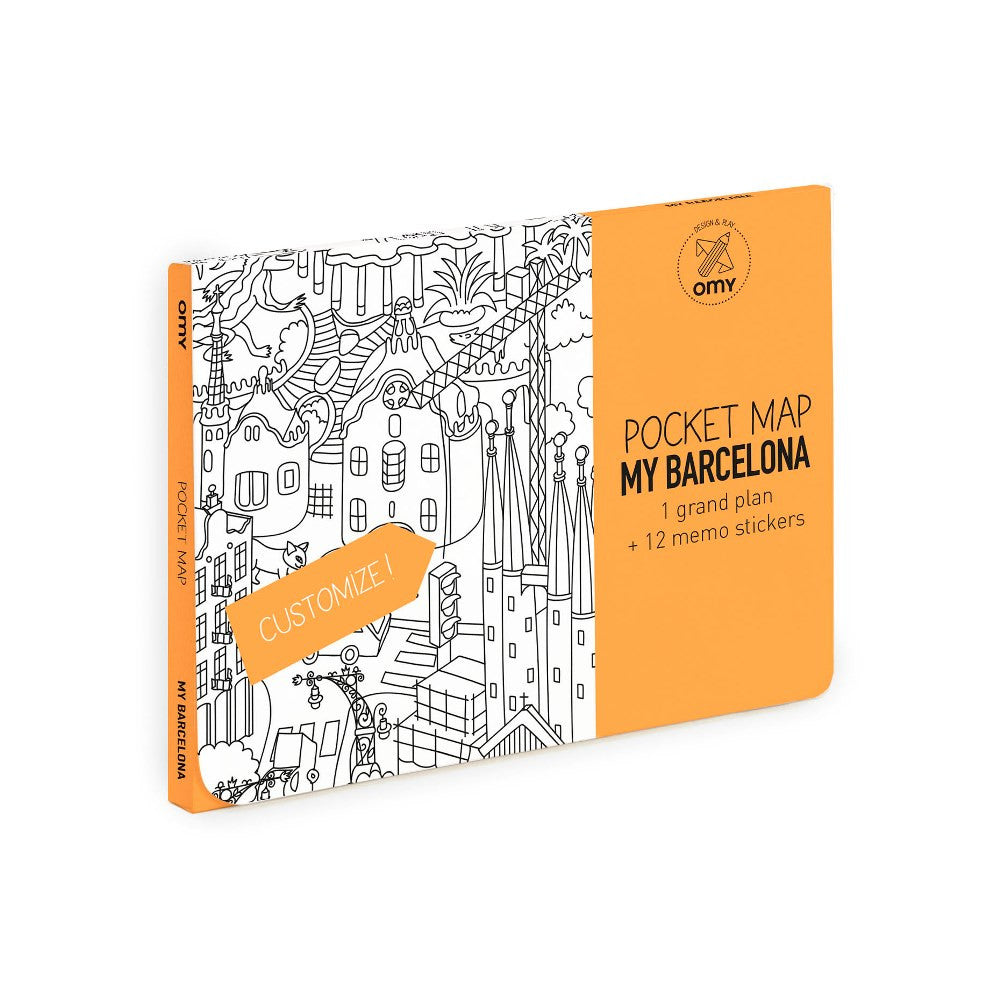 Pocket Map <br/> Barcelona