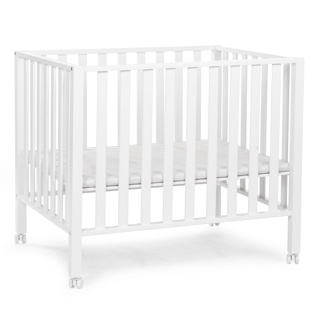 White Playpen 94 Beech from Childhome