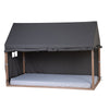 House Bed Frame<br/> Cover 90 x 200cm <br/> Anthracite