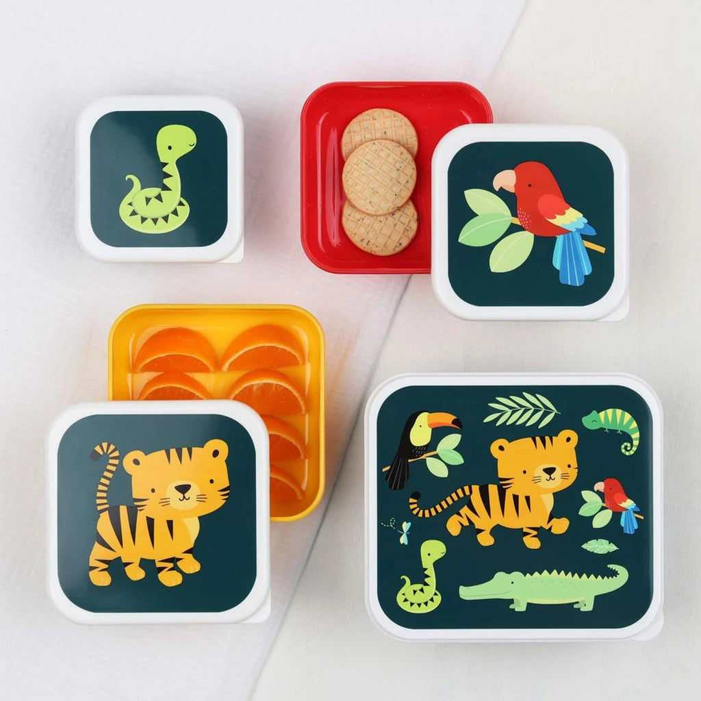 Lunch & Snack <br/> box set <br/> Jungle Tiger