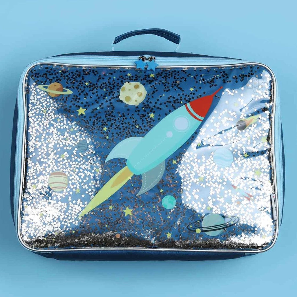 Suitcase <br/> Glitter <br/> Space