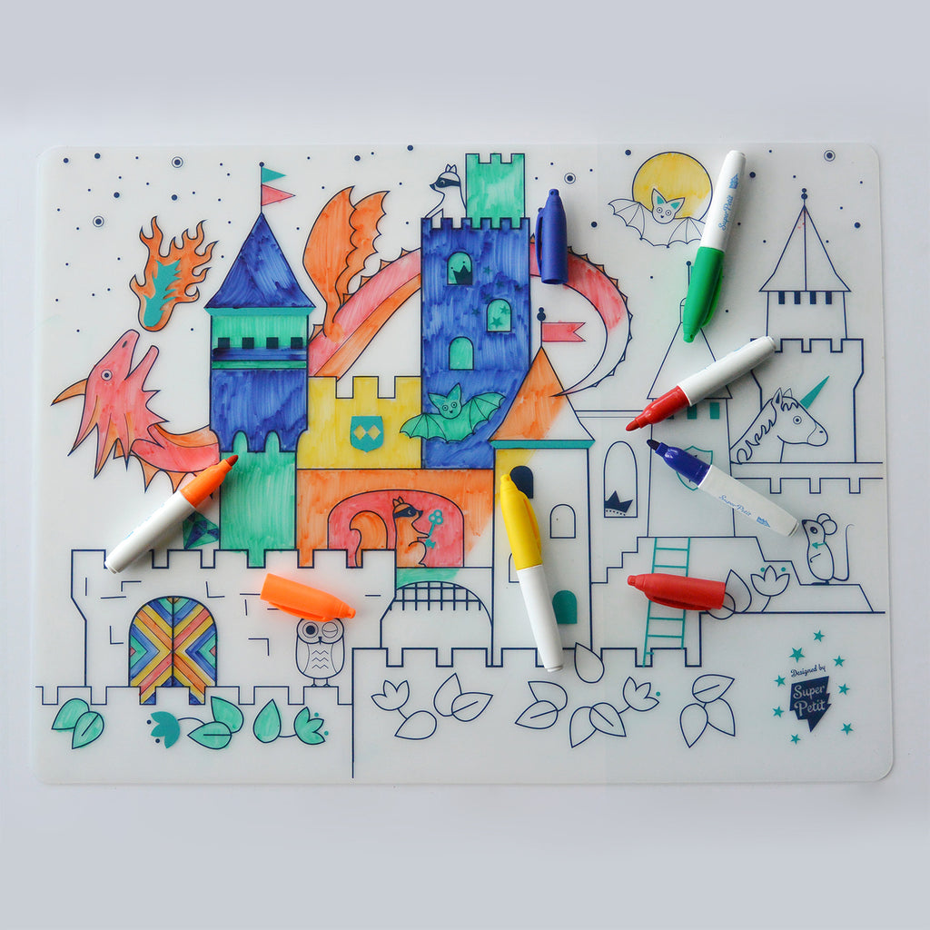 Silicone Placemat <br/> Castle