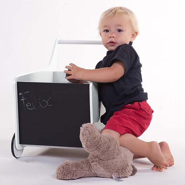 white push cart from childhome
