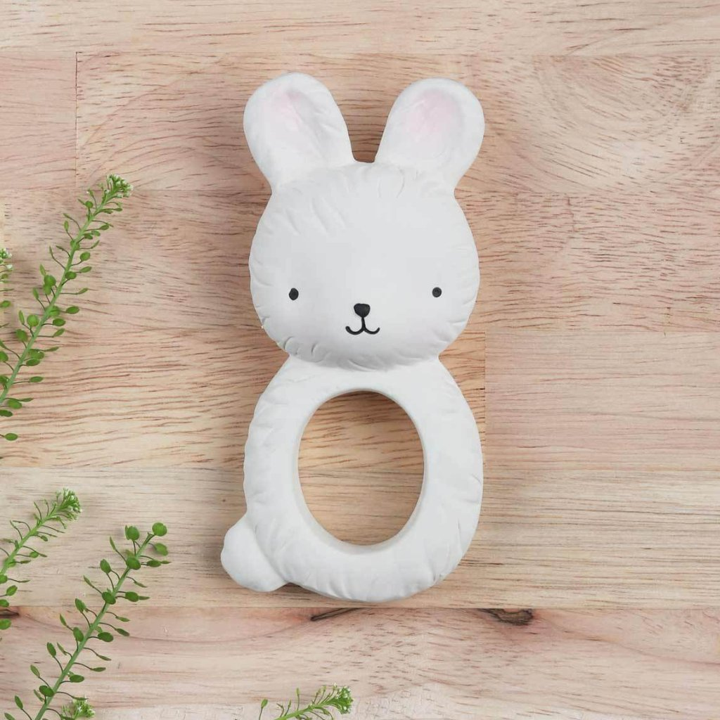 Teething <br/>  Ring <br/> Bunny
