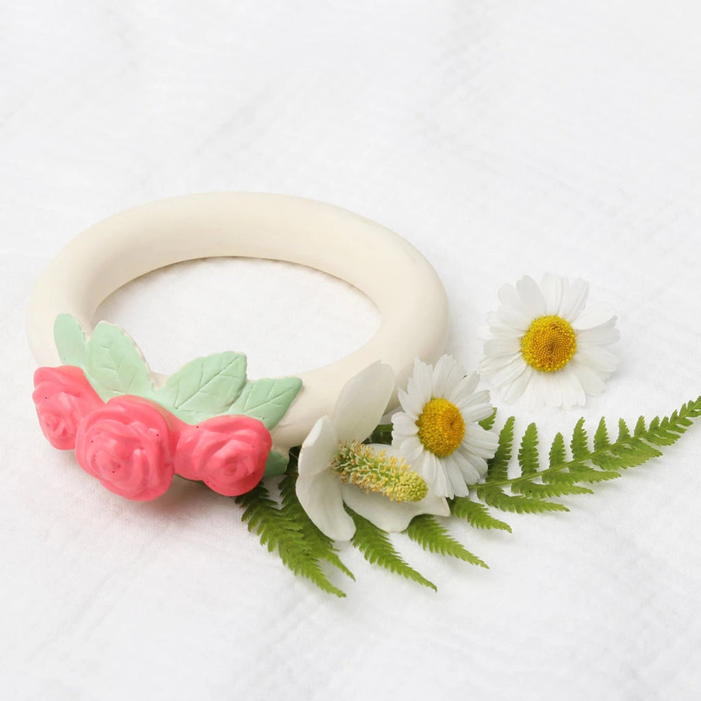 Teething ring <br/> Rose bud