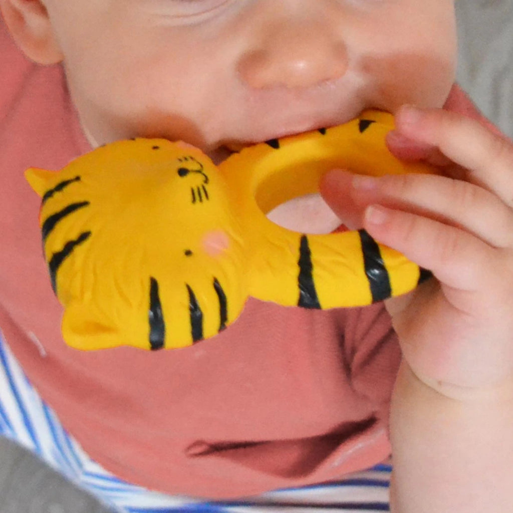 Teething ring <br/> Tiger