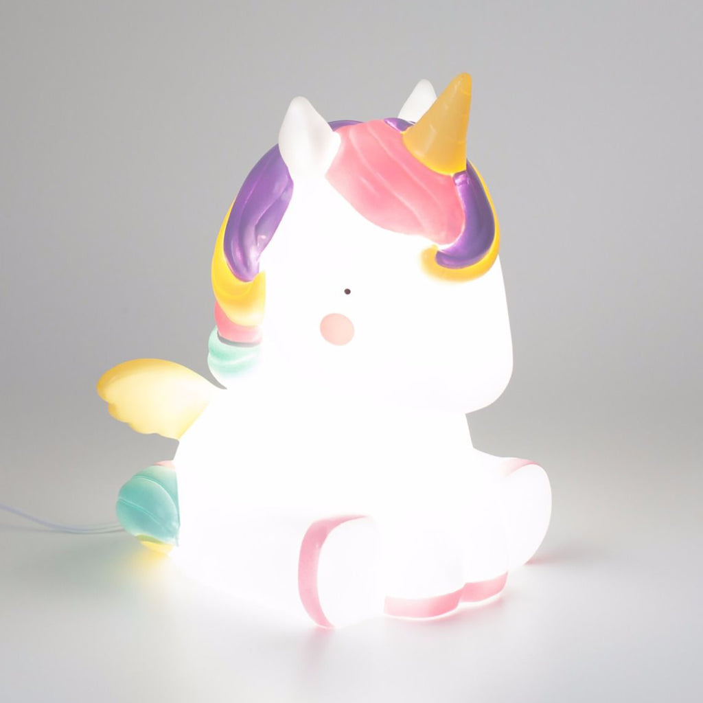 Unicorn Table Light From A Little Lovely Company