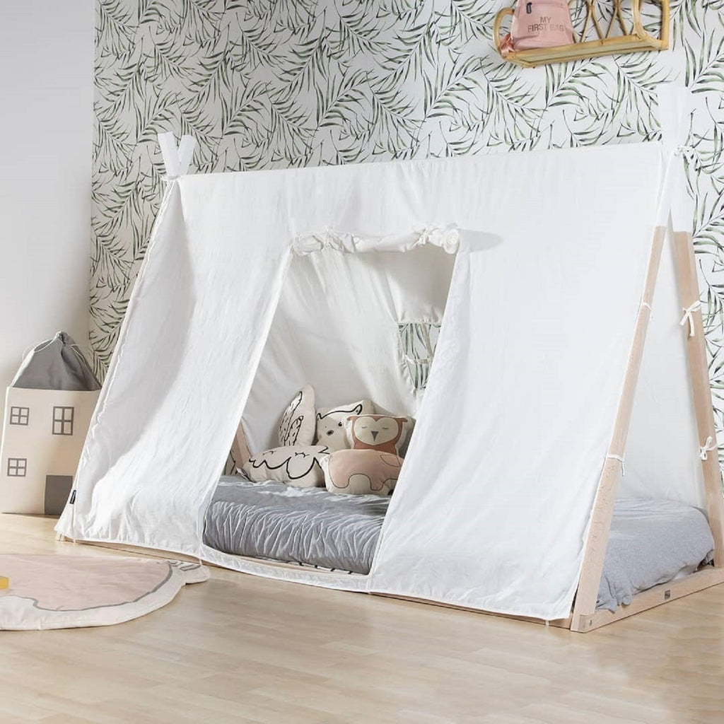 Tipi Bed Frame <br/> Cover 70 x 140cm <br/> White