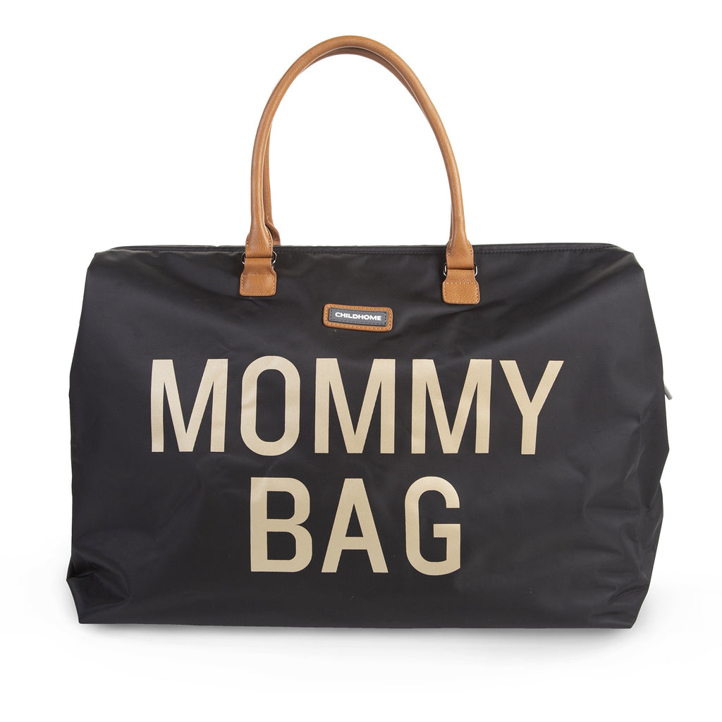 Mommy <br/> Bag <br/> Big Black Gold