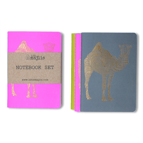 Notebooks <br/> A6 <br/> Set of 3