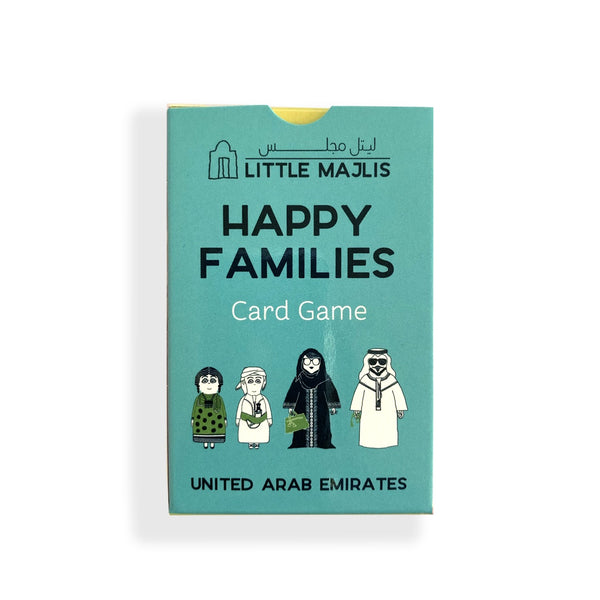Card Game <br/> Happy <br/> Families