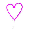 Neon Heart Light <br/> Pink