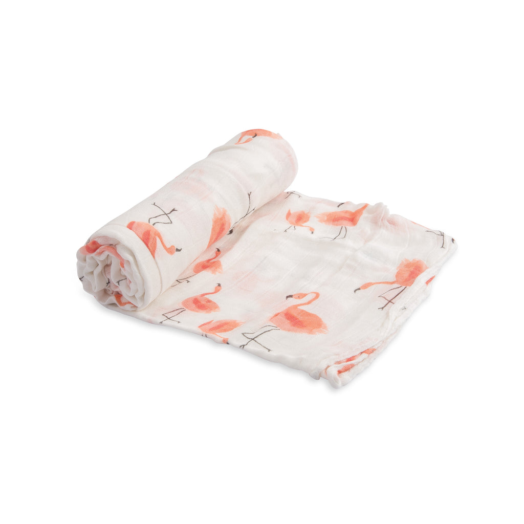 Deluxe Muslin <br/> Swaddle <br/> Pink Ladies