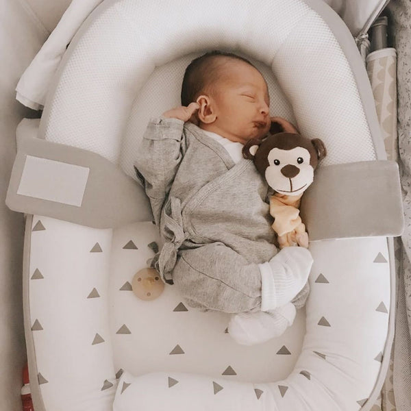 Cocoon <br/> Baby Bed <br/> Grey