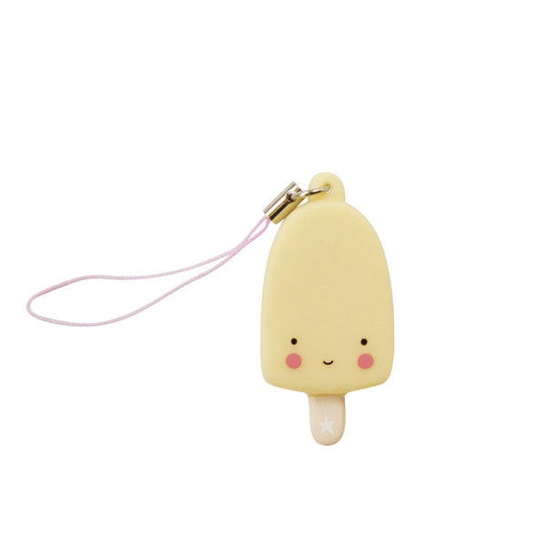 Charm Yellow Popsicle from A Little Lovely Company