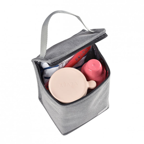 Isothermal <br/> Meal Pouch <br/> Heather Grey