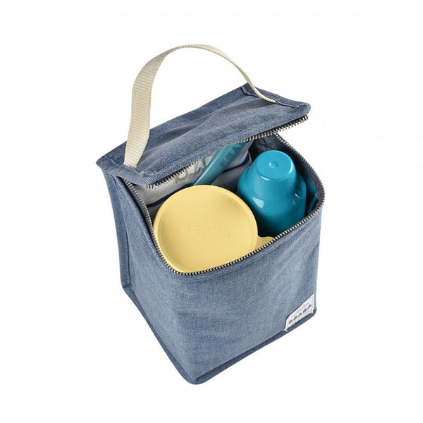 Isothermal <br/> Meal Pouch <br/> Heather Blue