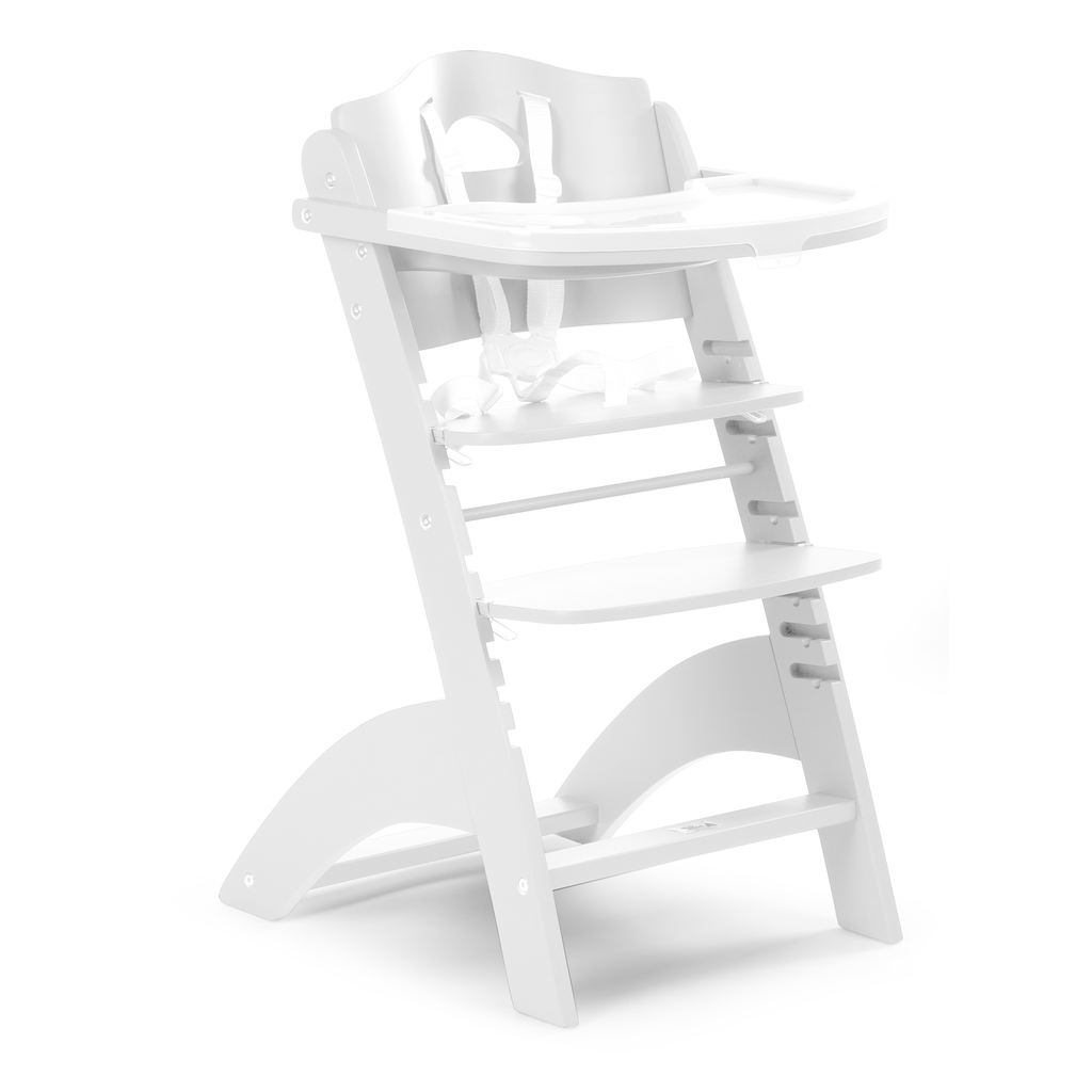 White Baby Grow Chair Lambda 2 from Childhome