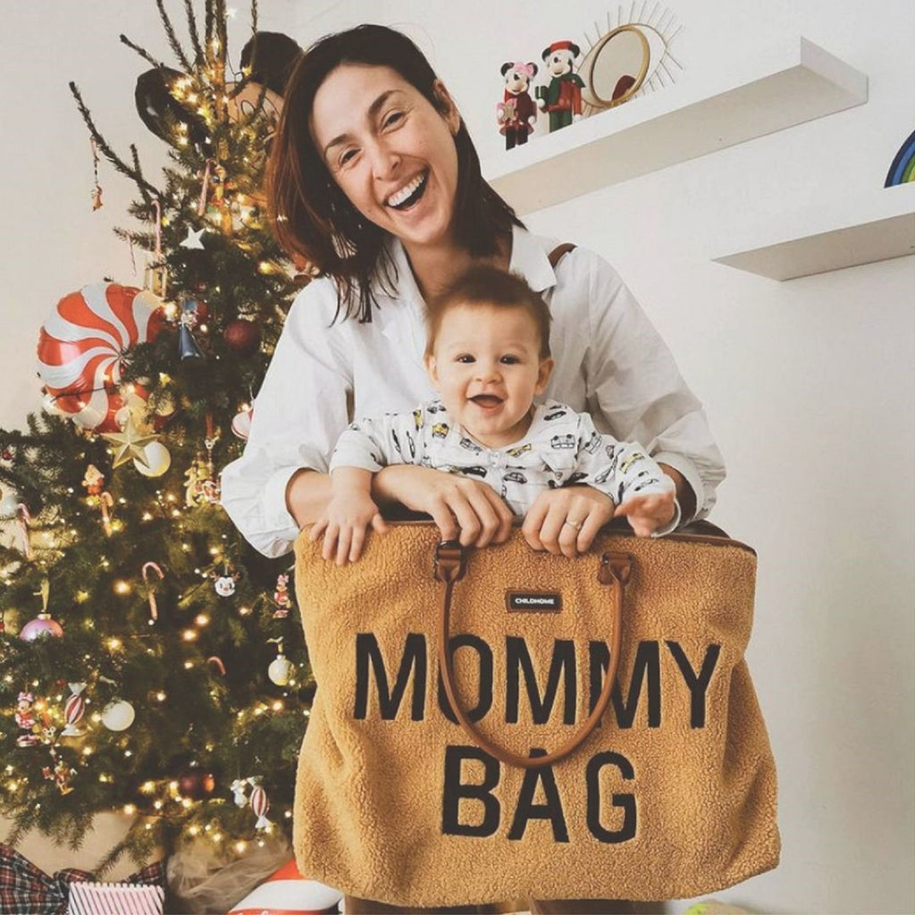 Mommy Bag <br/> Big Teddy <br/> Beige