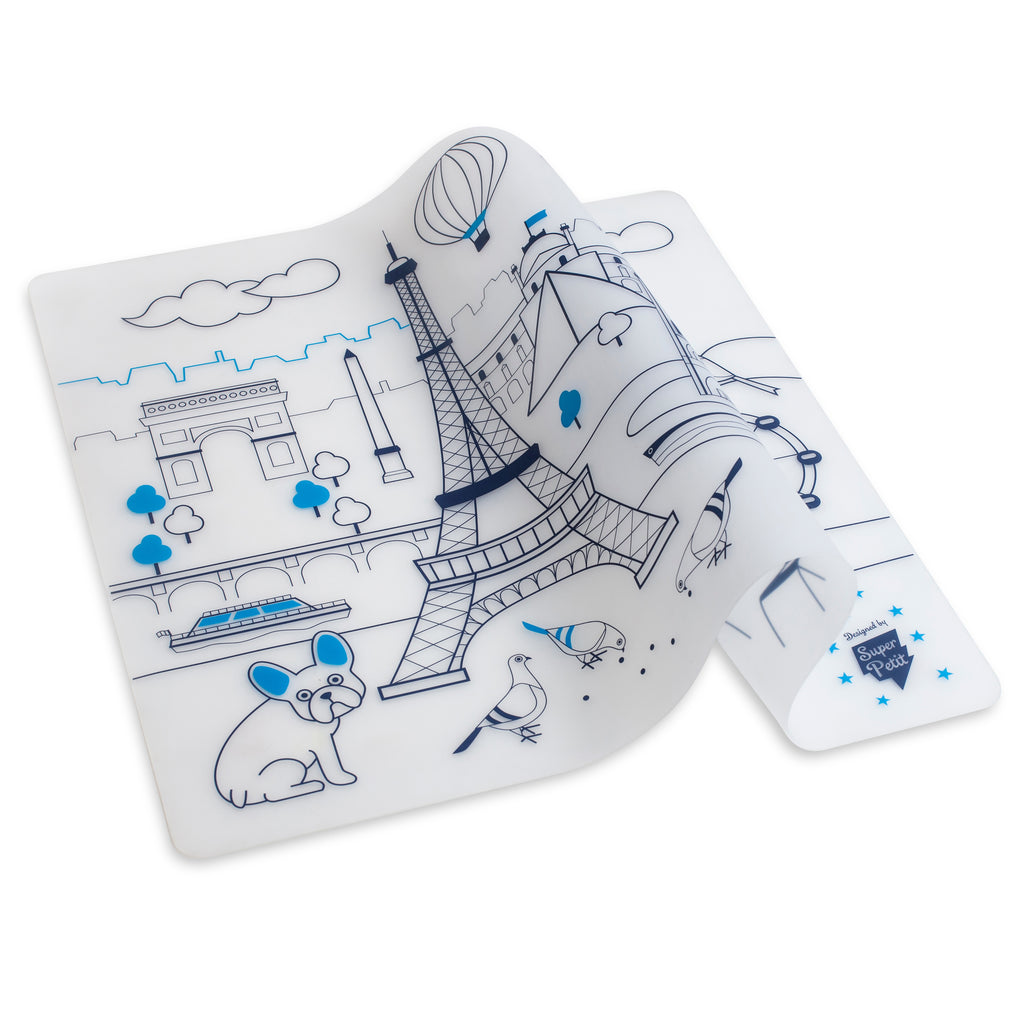 Silicone <br/> Placemat <br/> Paris