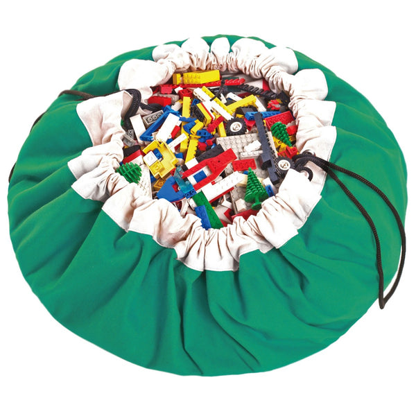 Playmat and <br/> Storage Bag <br/> Green