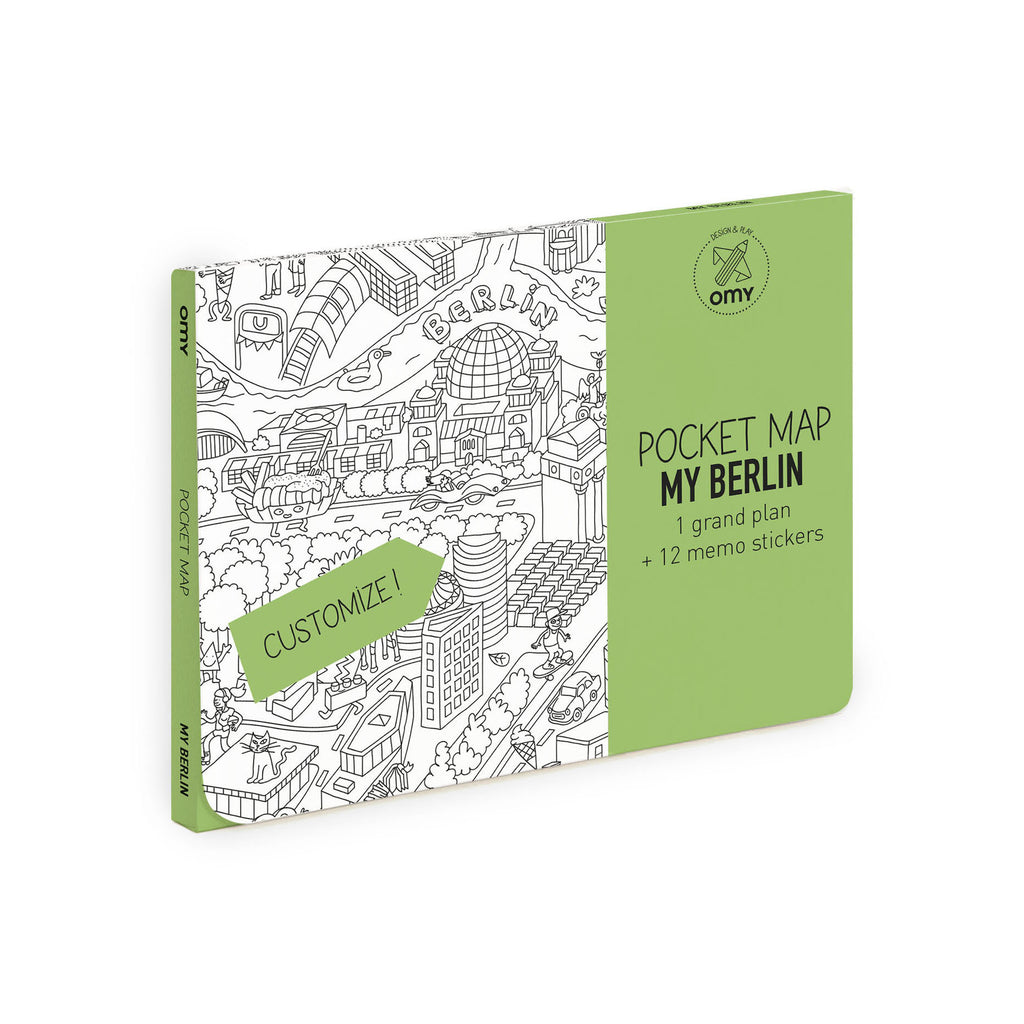 Pocket Map <br/> Berlin