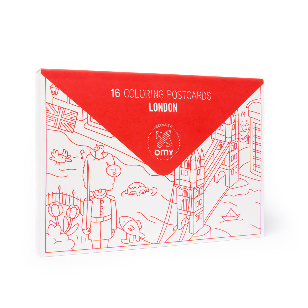Pack of 16 Postcards <br/> London