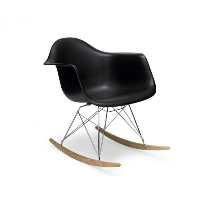 Black Kids Rocking Chair from Caramel And Sun