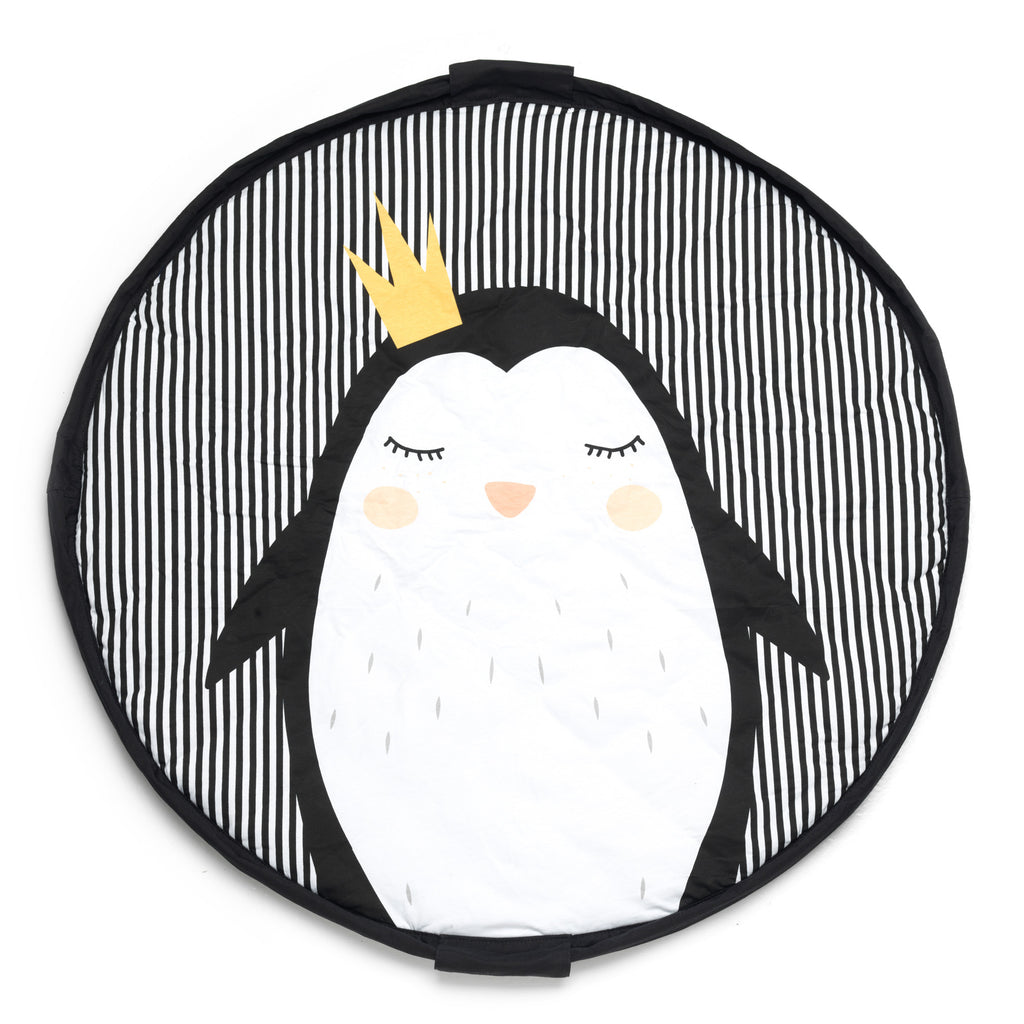 Playmat & <br/> Storage bag <br/> Penguin