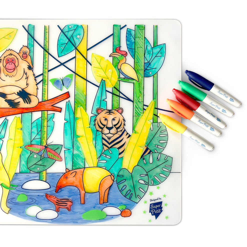 Silicone Placemat <br/> Wildlife