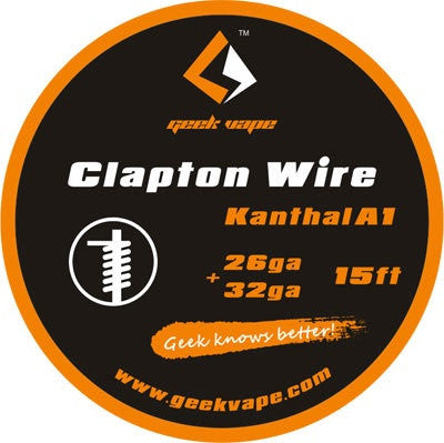 Geekvape Clapton Wire Kanthal A1 26/32