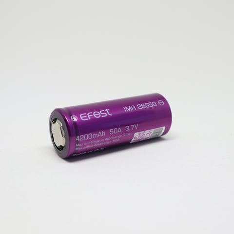 Efest - IMR 26650 50A Flat Top 4200mAh Battery