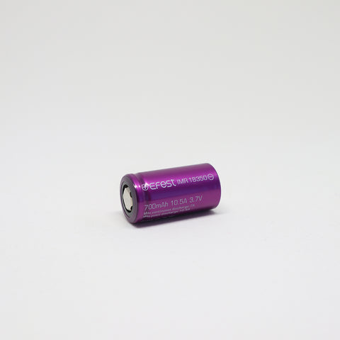 Efest - IMR 18350 10.5A Flat Top 700mAh Battery