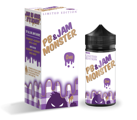 PB & Jam Monster - Grape 100ml bottle