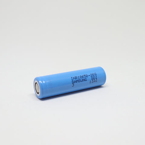 Samsung - 20S 18650 30A Flat Top 2000mAh Battery